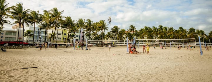 Vind op Airbnb een accommodatie in Mid-Beach, Miami Beach