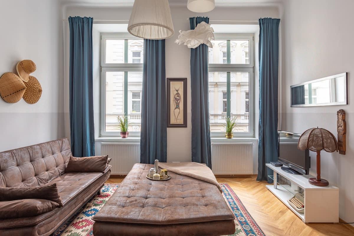 Leben und Genießen in einer hellen, ruhigen Wohnung in Brigittenau nahe am Park