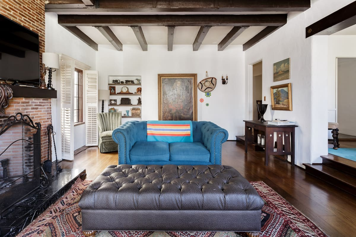 1920s Hollywood Tudor Apartment Filled with Charm