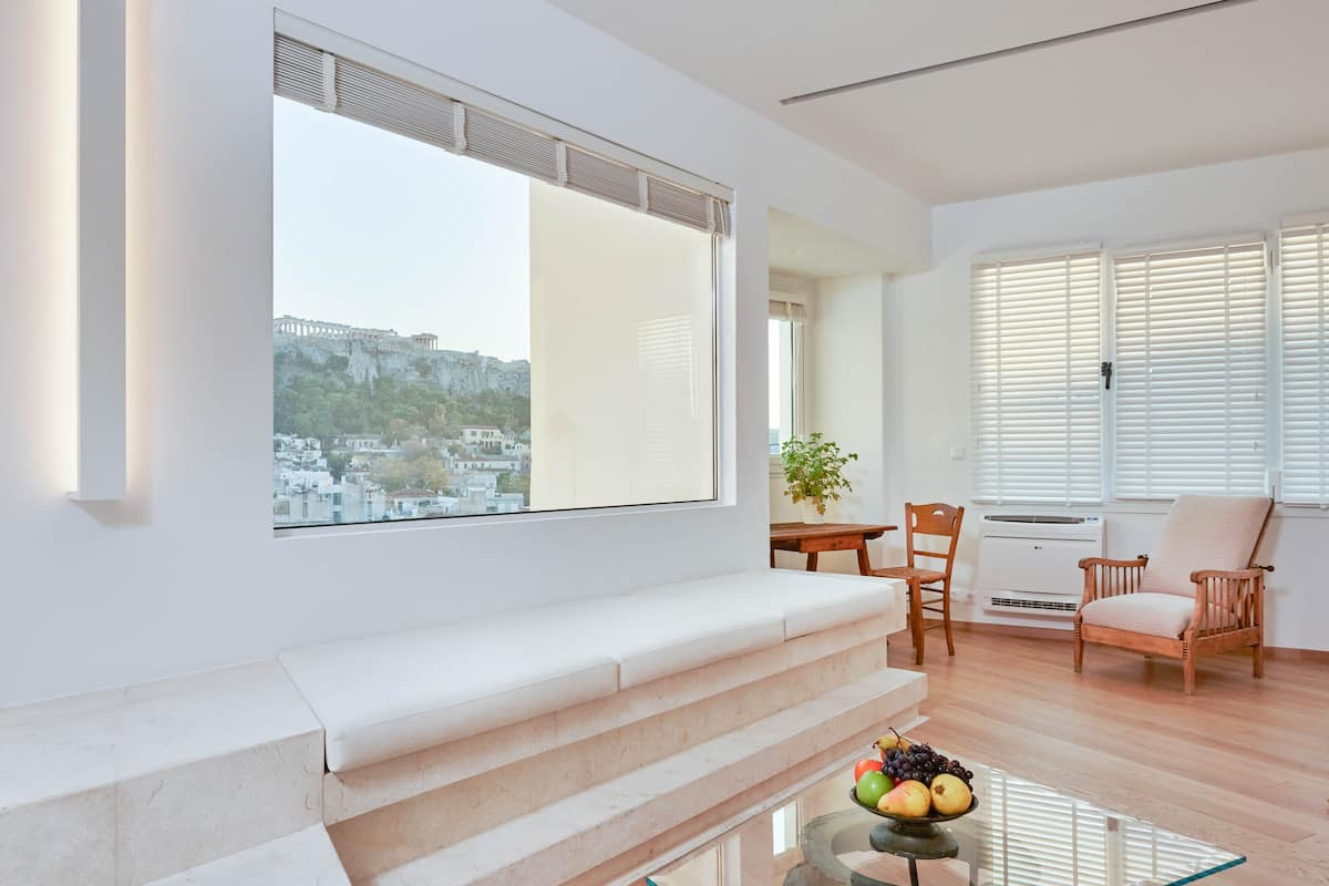 Kiron Architectural Sanctuary with Views of the Acropolis