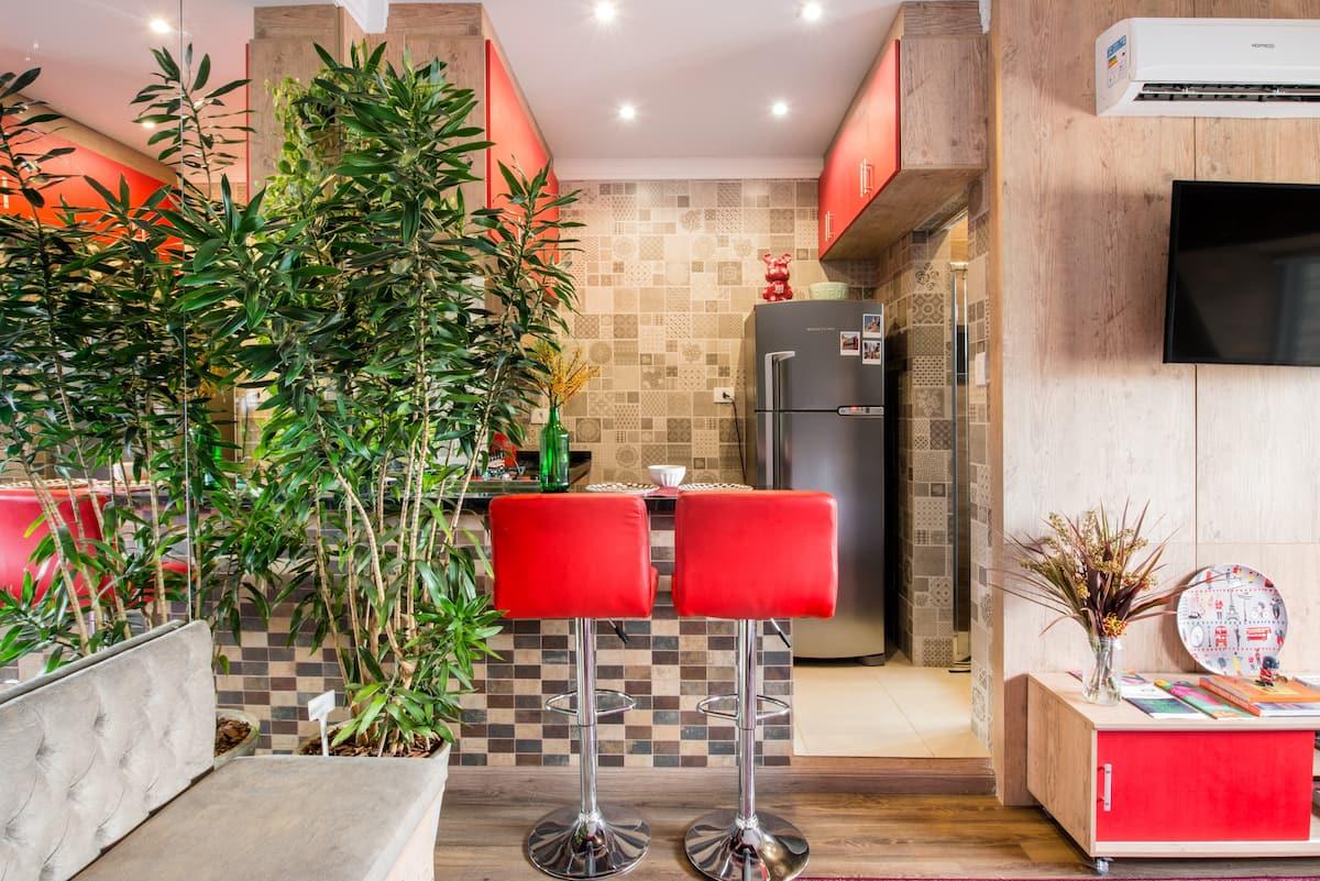 Curta o melhor do centro de São Paulo em um loft charmoso e  bem-equipado