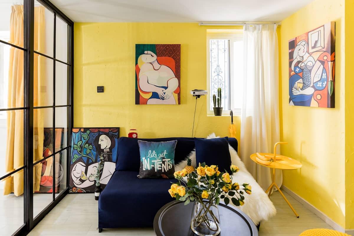 月租优惠 毕加索 入住西班牙风公寓来体验地中海的热情