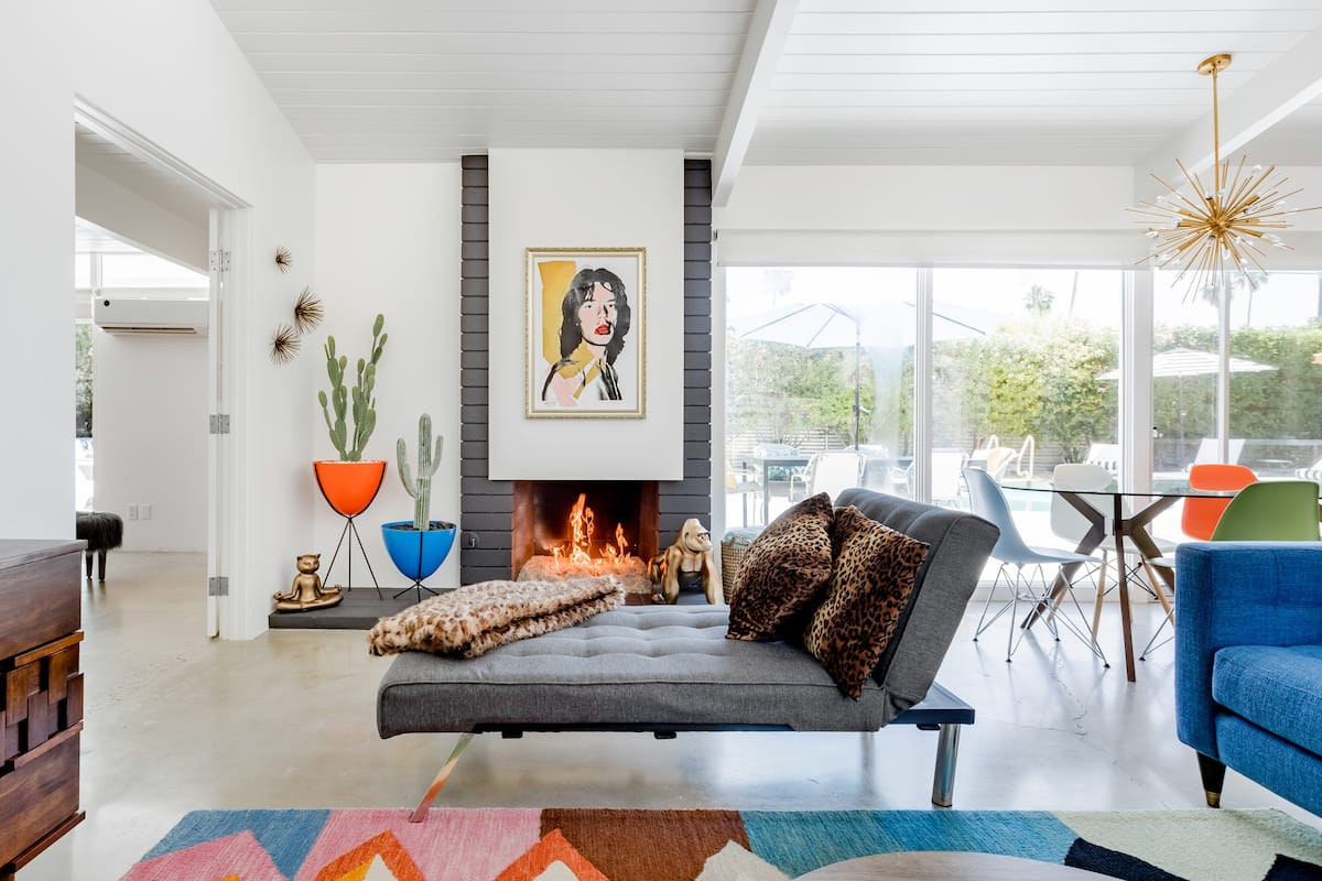 Find Inspiration in the Jagger House—A Rocker's Paradise