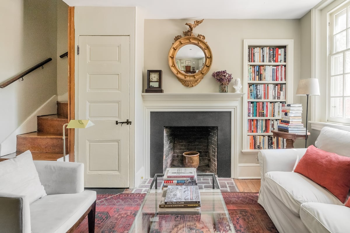 Recharge in This Serene, Centrally Located 1829 Townhouse