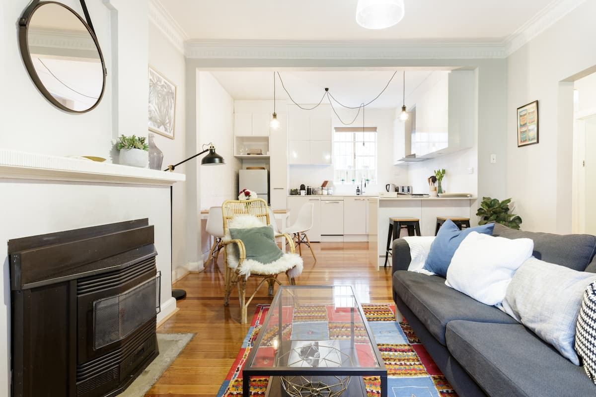 St Kilda Staycation in a Family Friendly Art Deco Apartment