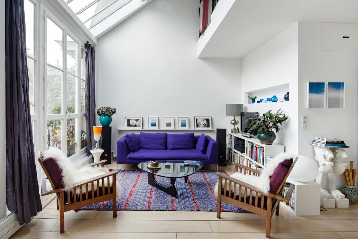Bright, Charming Artist Flat in South Pigalle