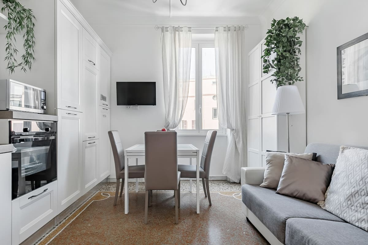 Classical Antiquity Inspired Apartment Central Three Large Suites