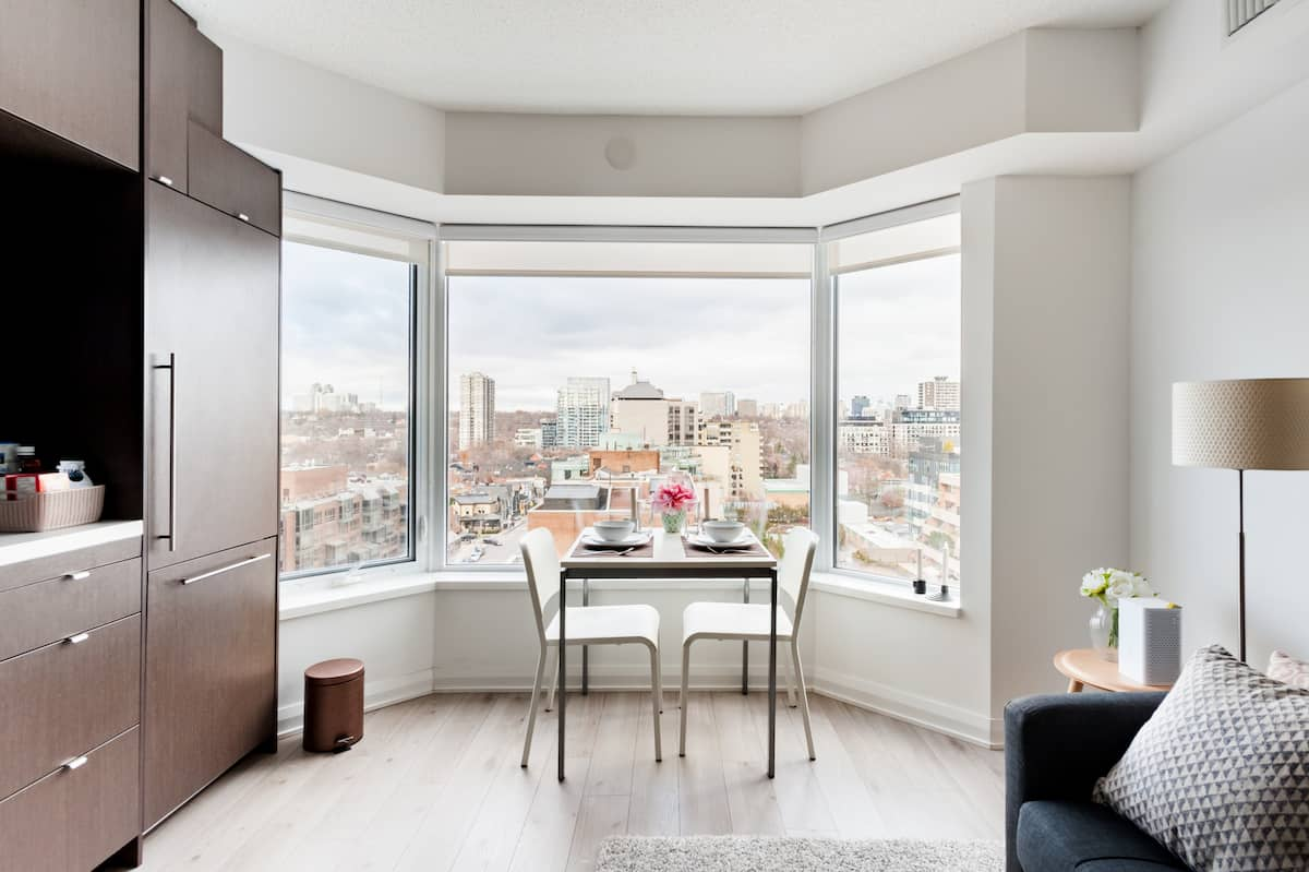 Gorgeous 180-Degree Views from a Chic Home in Yorkville
