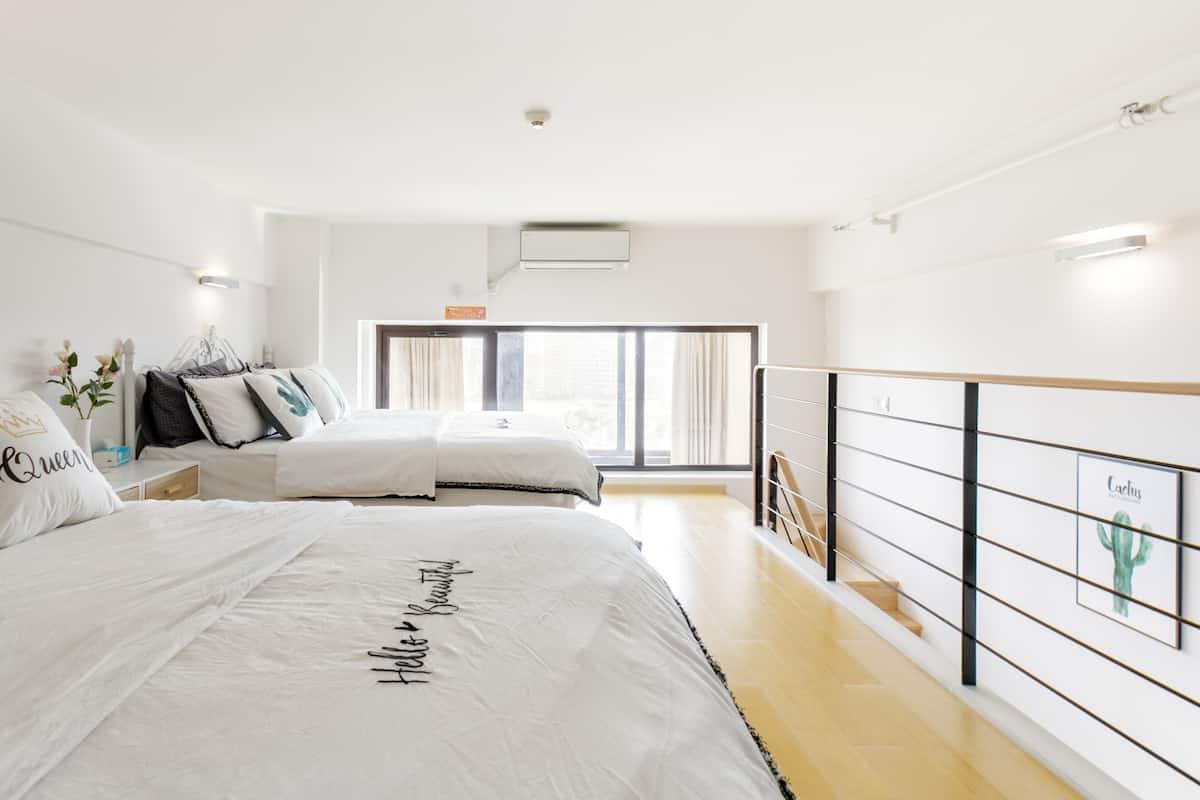 艺雅-整套复式公寓临近迪士尼的高端Loft期待您