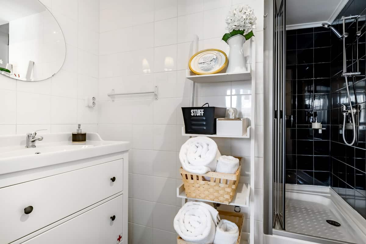 Sink into Lemon Beanbags at a Charming Alfama Mezzanine