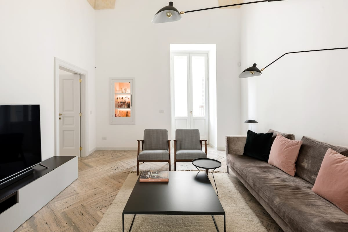 Contemporary Gem in a Centuries-Old Palazzo