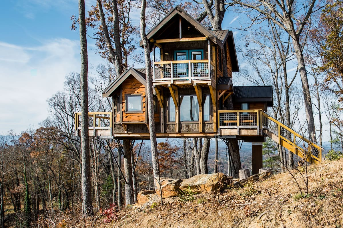 Live Your Childhood Fantasy at a Dreamy Treehouse Retreat