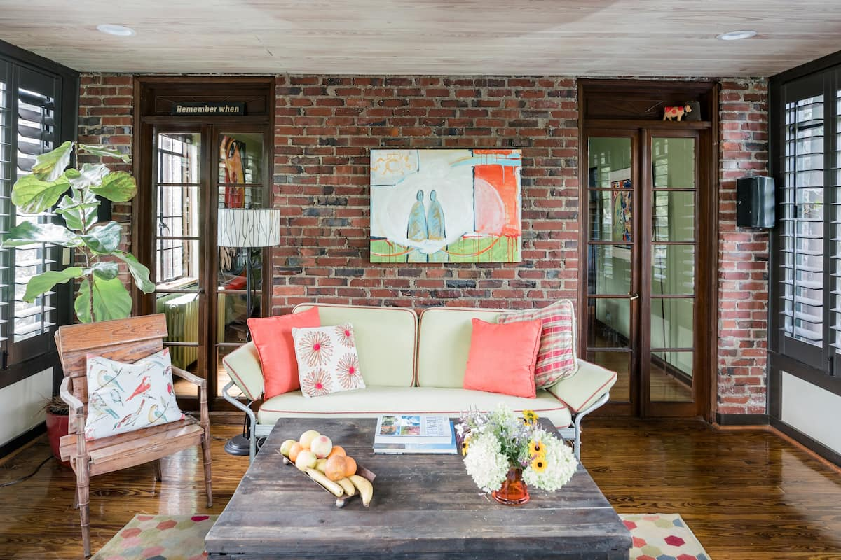 Luxe Comfort in an Artistic & Historic Home