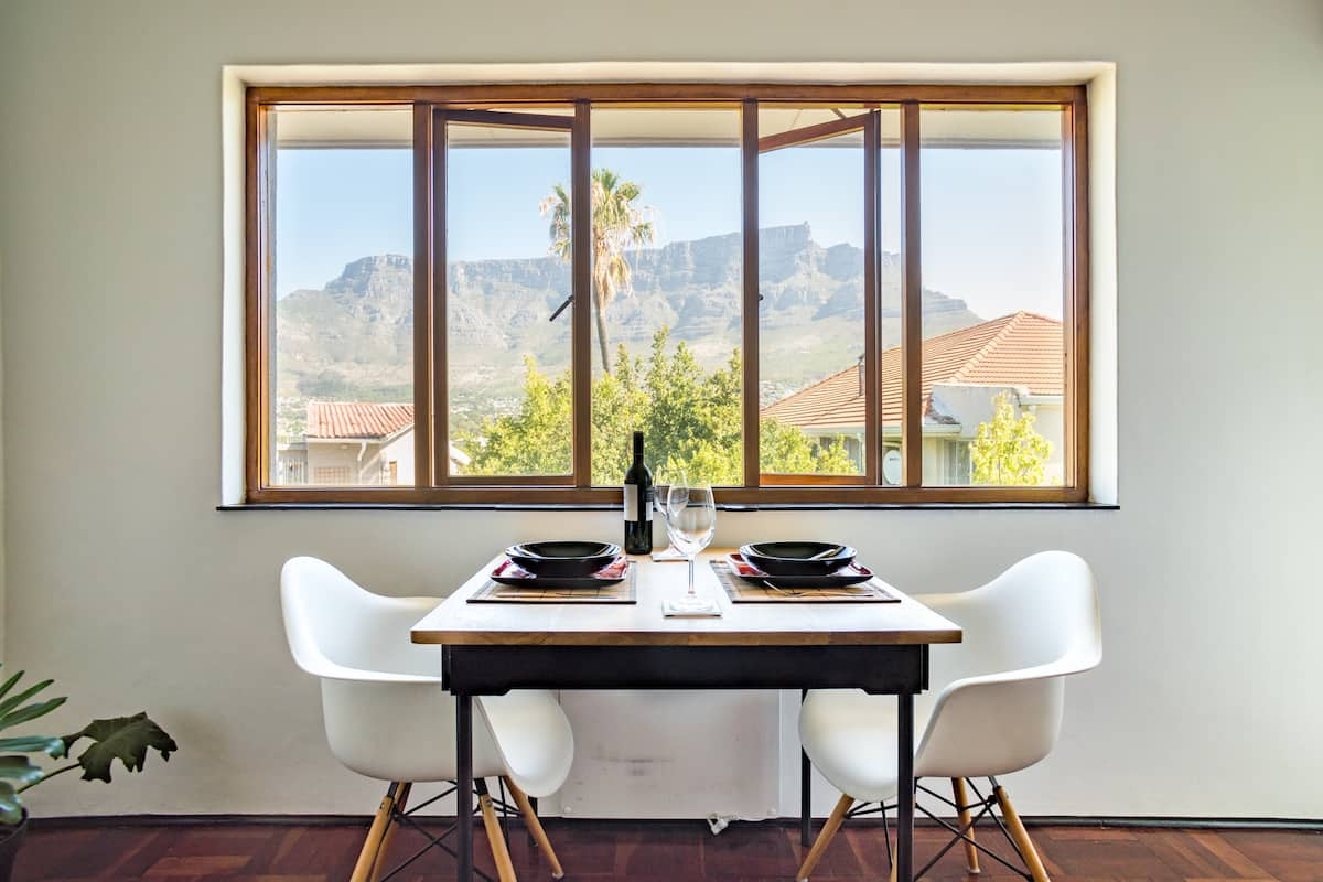 Enjoy Beautiful Views of Table Mountain in a Stylish Home