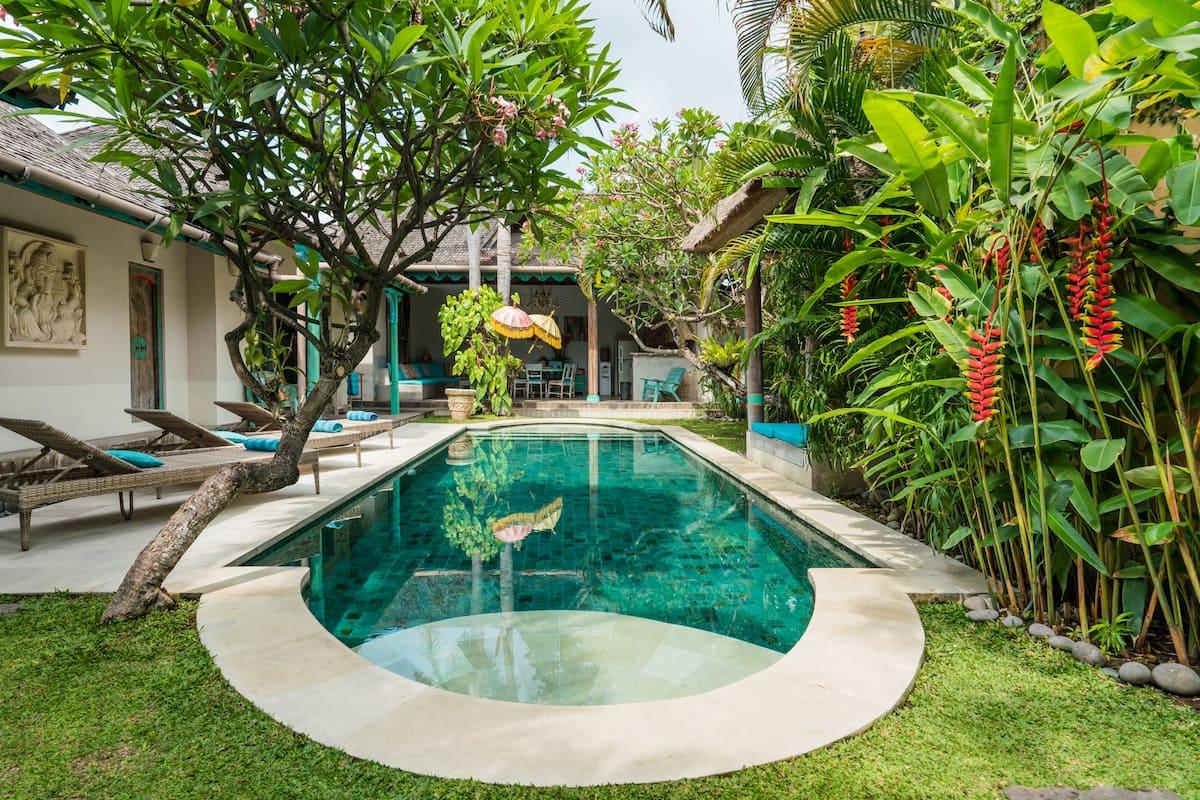 Villa Anais Lounge Poolside on the Terrace of a Magical Villa