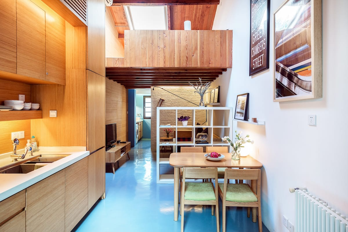 Designer Loft Close to the French Concession