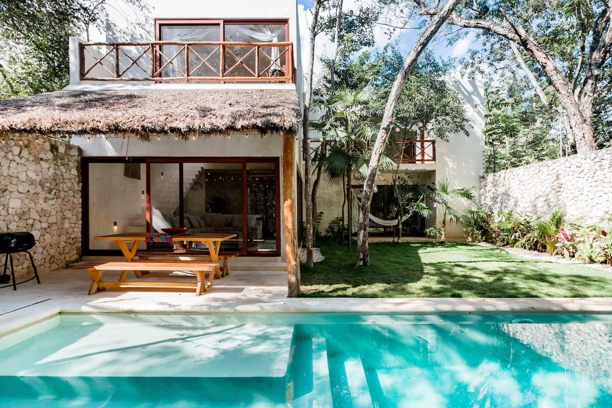 Special Seasonal Offer / Poolside Zen in the Tulum Jungle