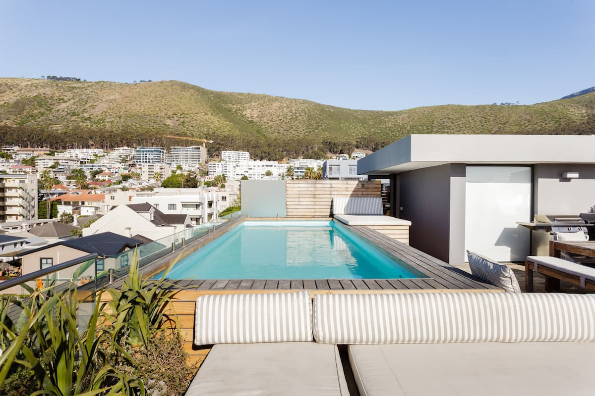 Stylish Sea Point Views from Penthouse with Private Pool