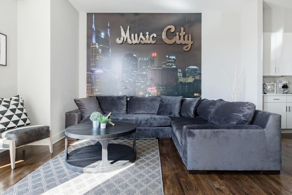 Nashville Rooftop Views & In Home Murals, Clean & Sanitized