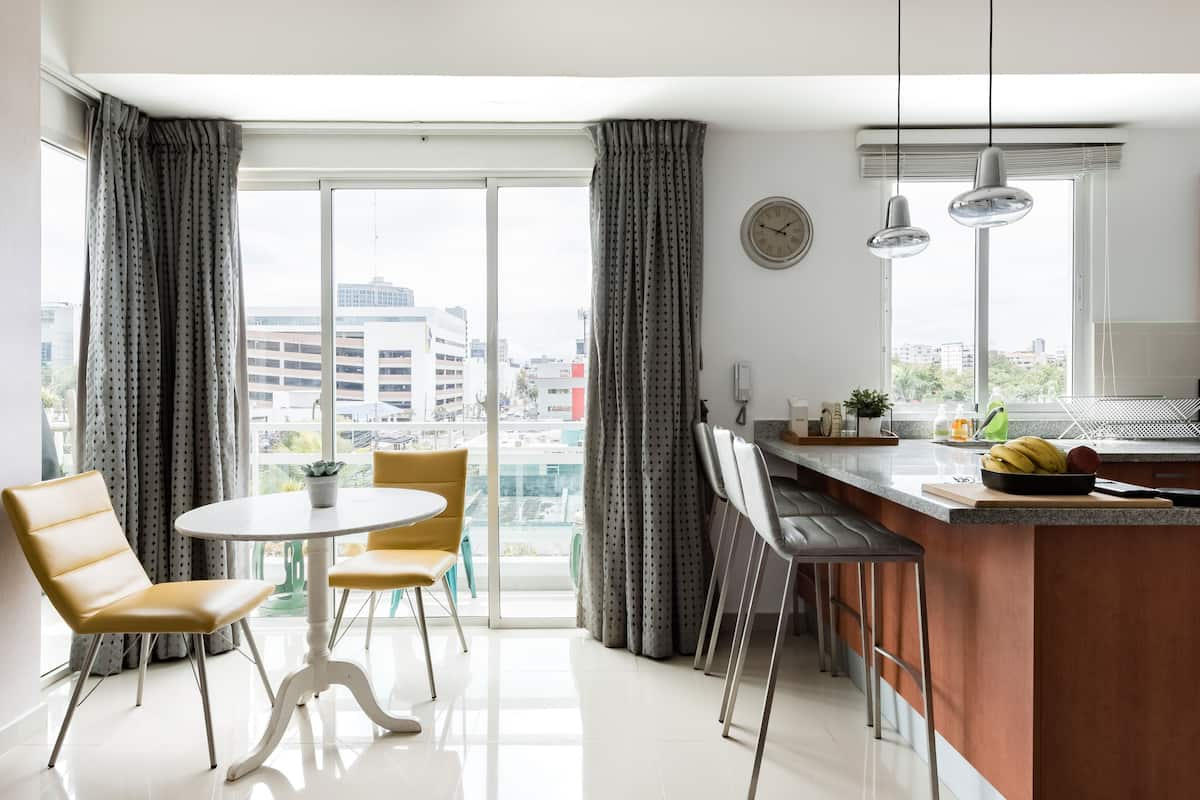 Downtown Luxury Apartment, Great View, Shared Gym & Rooftop