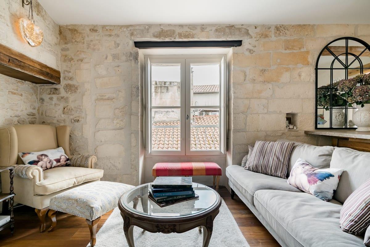 Admire Provençal Views at an Elegant Historic Penthouse