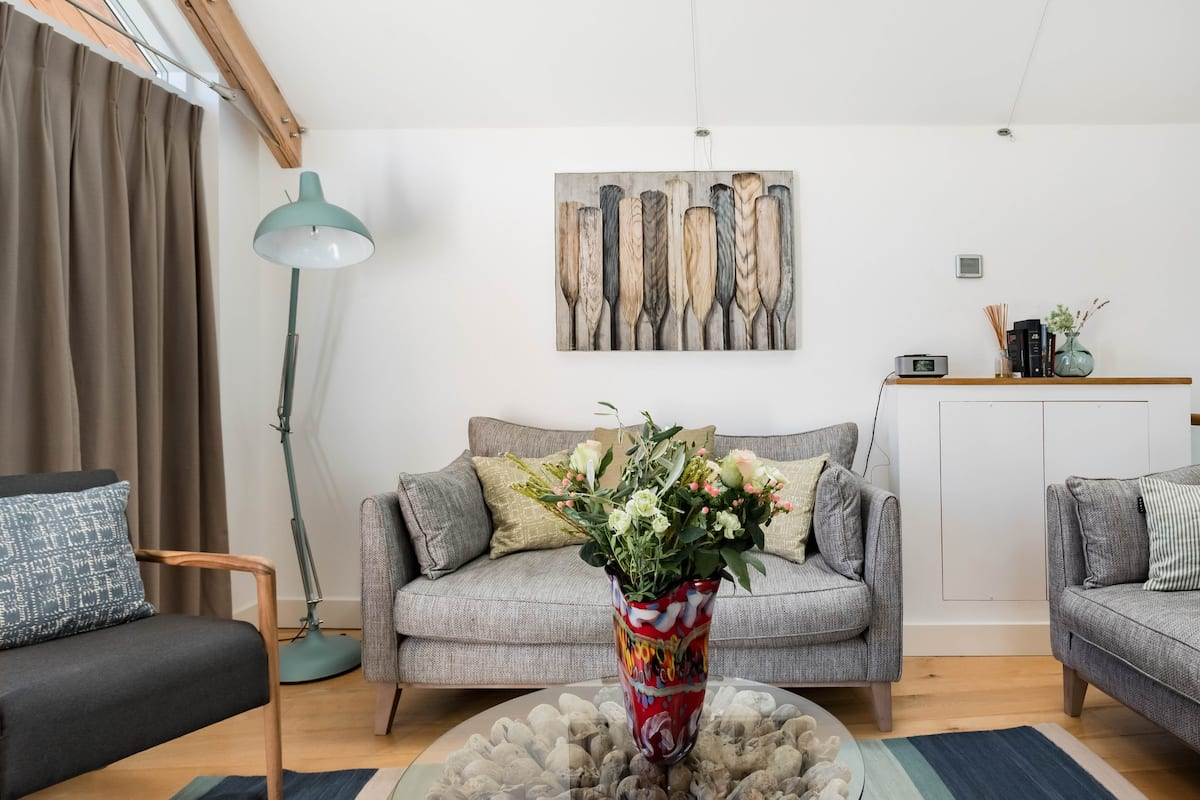 Explore Bath From a Radiant Canalside Home