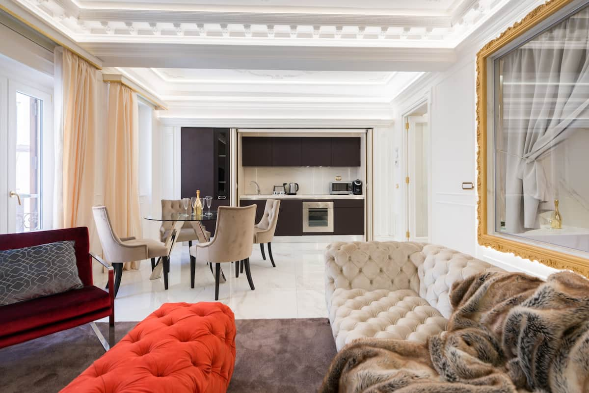Fendi Style Luxury Apartment at Spanish Steps
