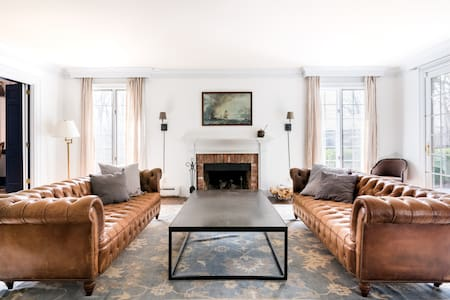 Classic Hudson Valley Farmhouse Nestled in 9 Rolling Acres
