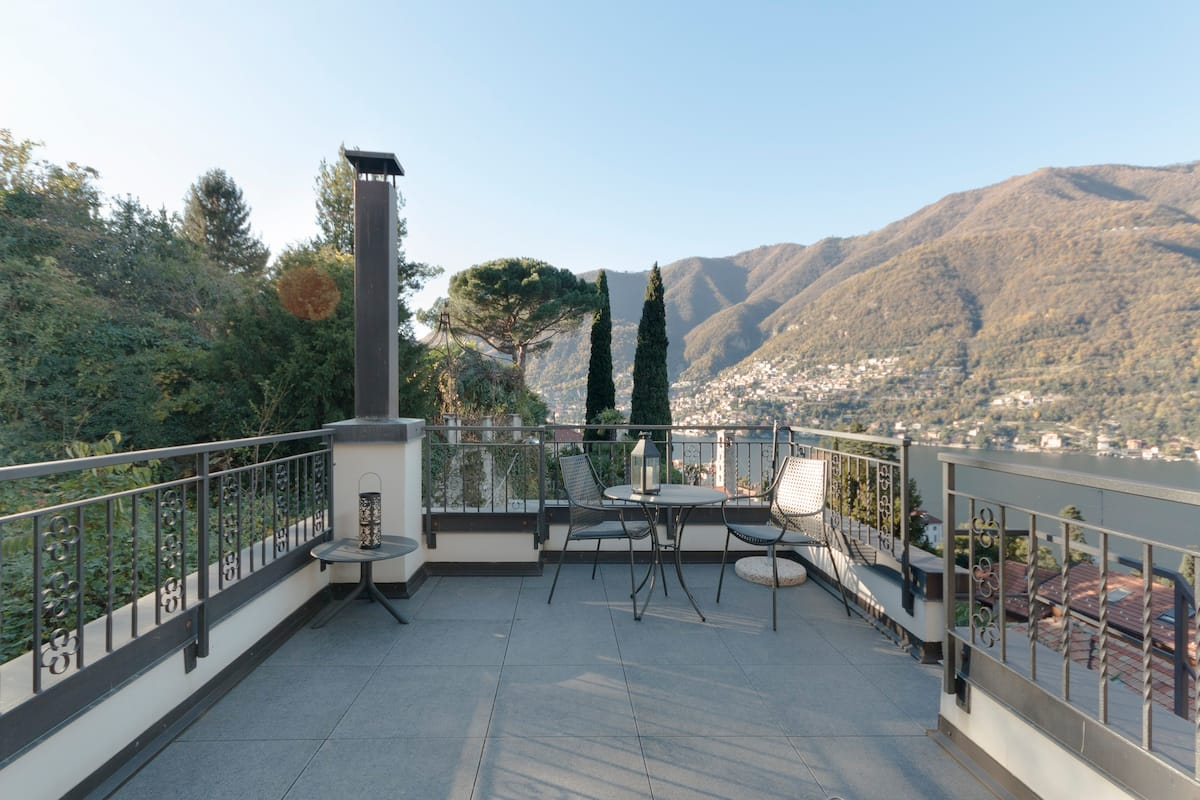 Explore Lake Como from a Historic Apartment