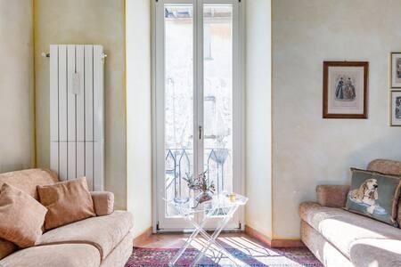 Signorile, prestigioso appartamento in villa del '600 a Belgirate