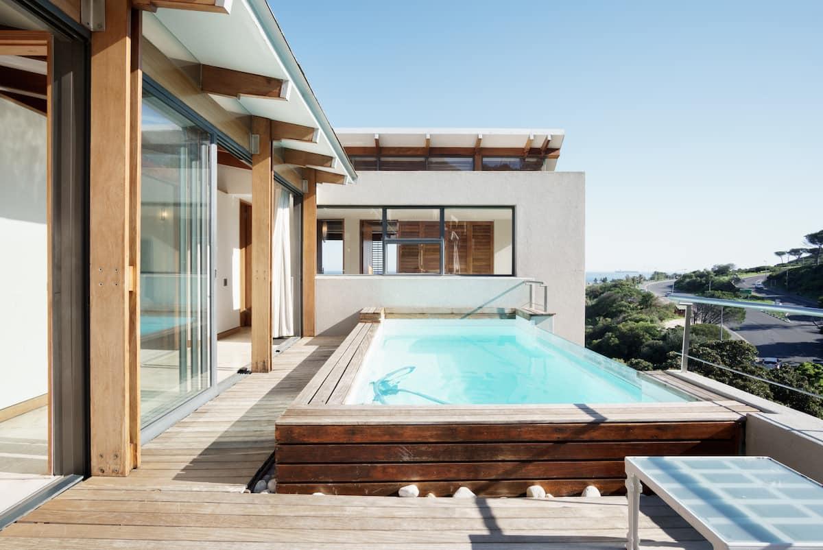 Glen Beach Villa Two with Ocean Views above Glen Beach