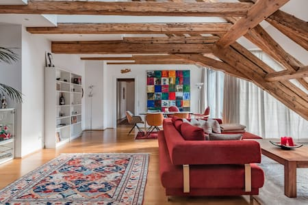 Penthouse Loft in Updated Historical Building