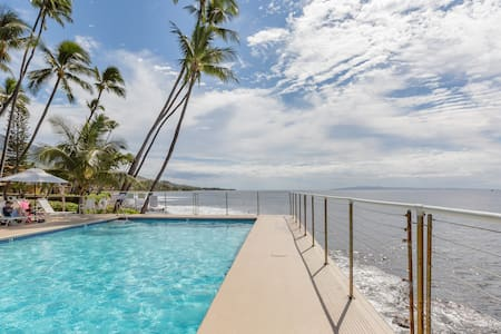 Swim in the Ocean Directly from this Stunning Condo in Maui