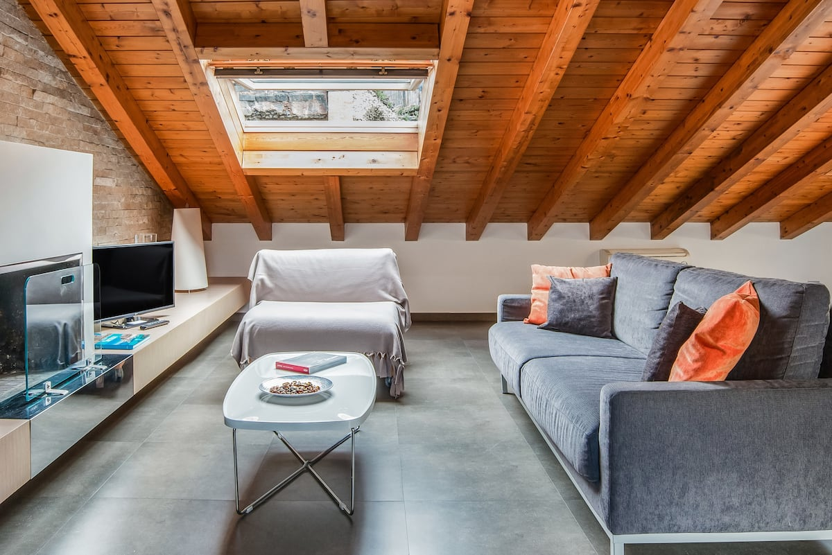 Snuggle up under the Wooden Beams at a Luxury Loft