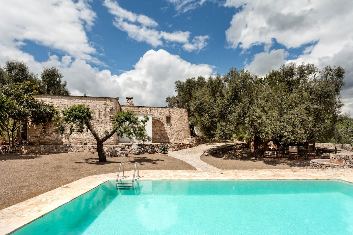 Historic Villa and Trullo With a Private Pool