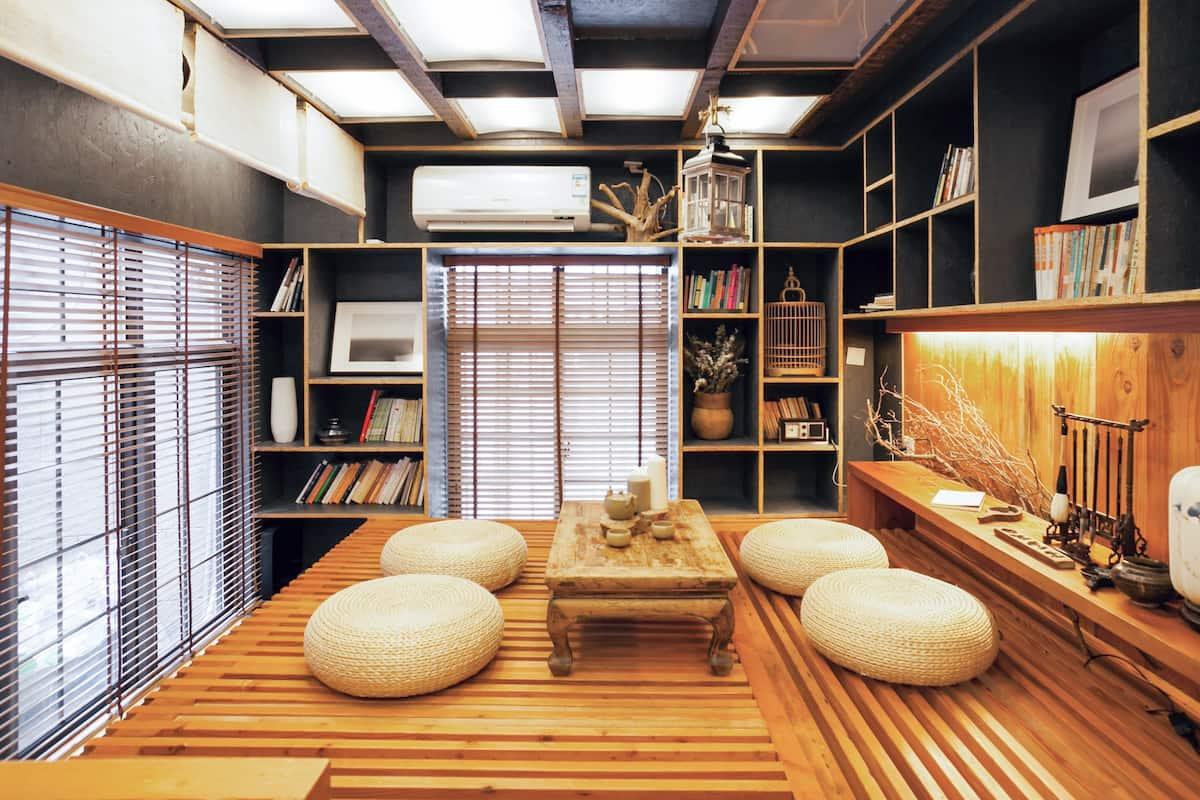 [昔舍-匣想]毗邻田子坊,位于建国西路的摩登禅式公寓