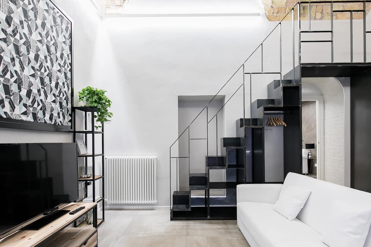 Loft in stile Post Industriale nel cuore di Trastevere