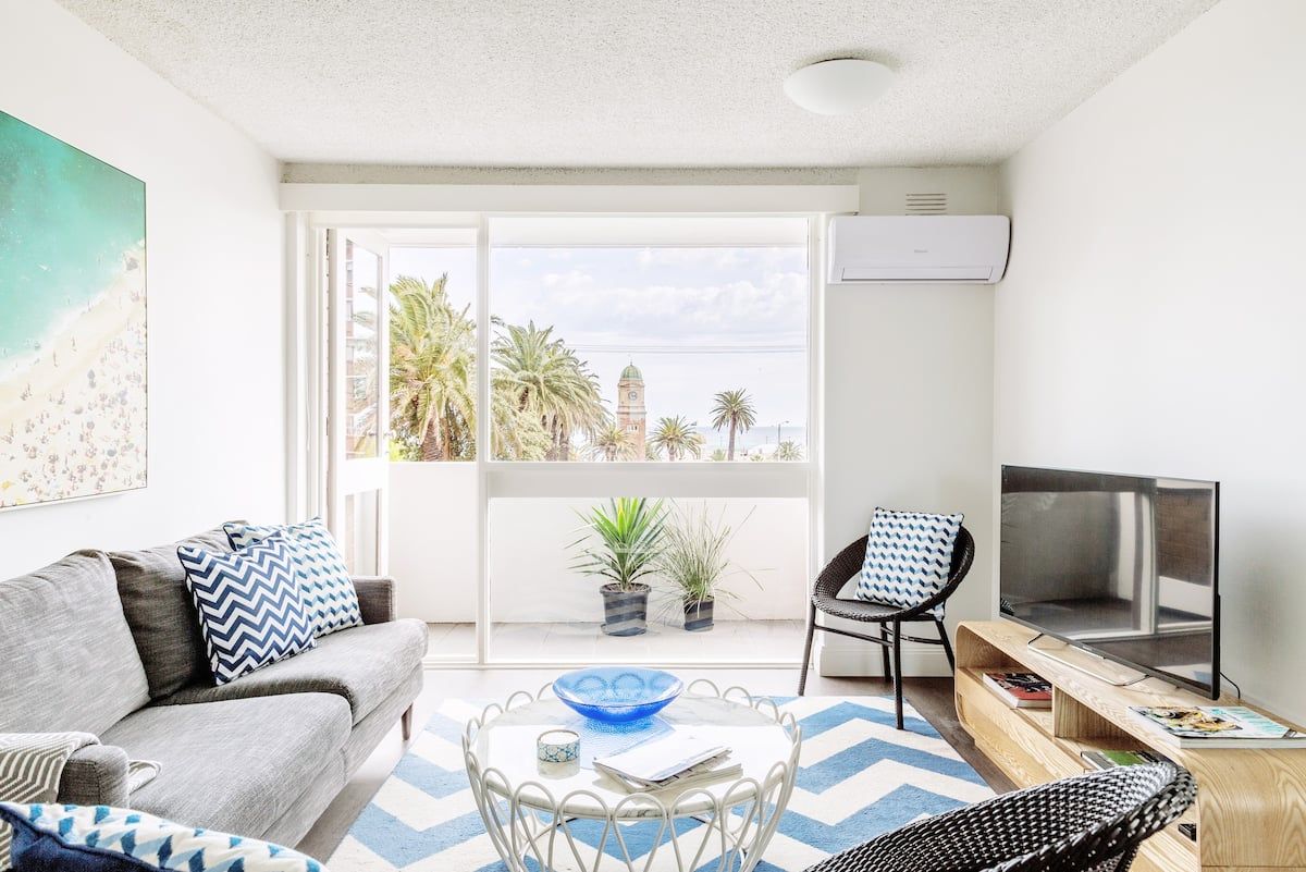 Live Like a Local from Beachside Luxury Apartment