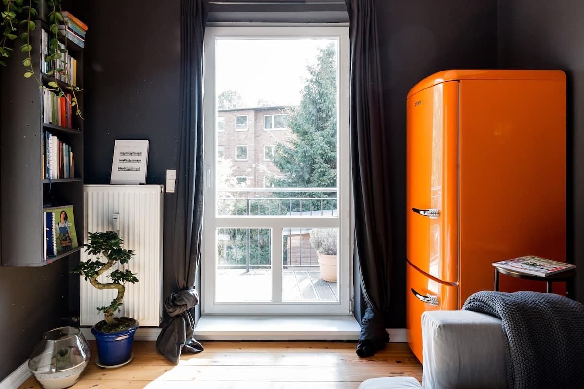 Entspann dich  in einer wunderschönen ruhigen Wohnung im Norden Hamburgs