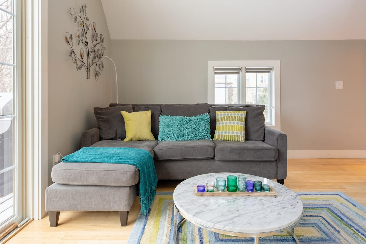 Carriage House Apartment Designed for Comfort and Wellness