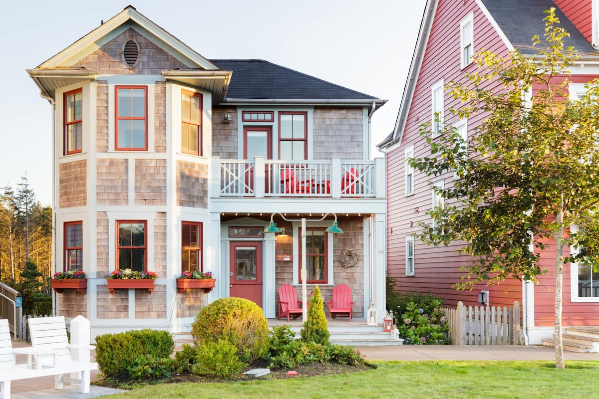 Captivating Nautical Beach Home Bordering Town Hall Green