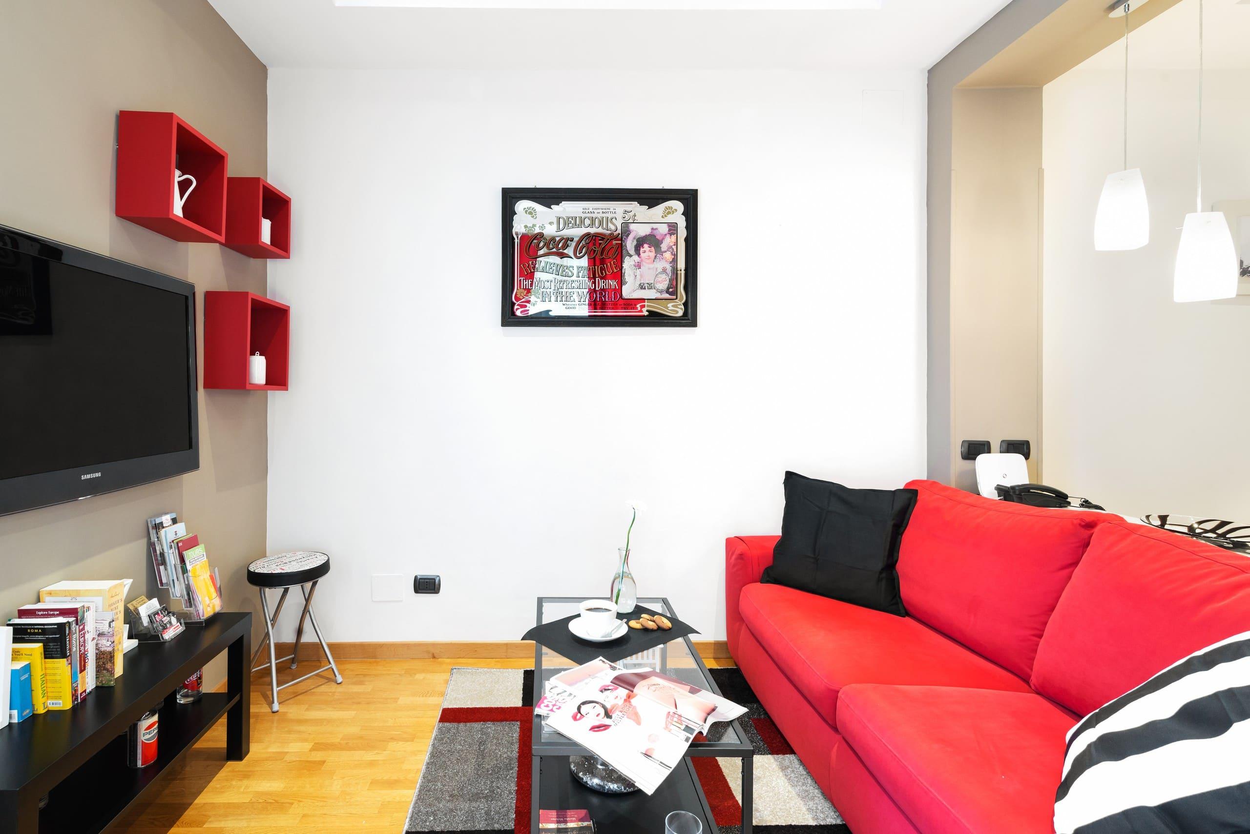 Ampio e comodo appartamento a trastevere appartamenti in for Airbnb roma