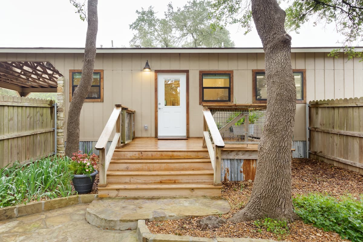 Explore Nature from a Modern Studio Retreat in Wimberley