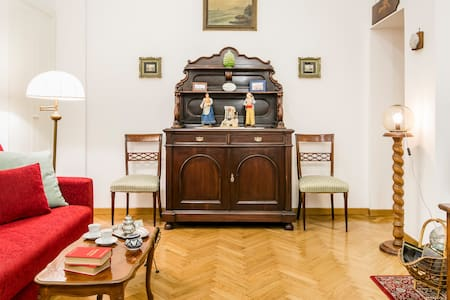 Traditional Liberty Style Apartment in the Heart of Chiaia