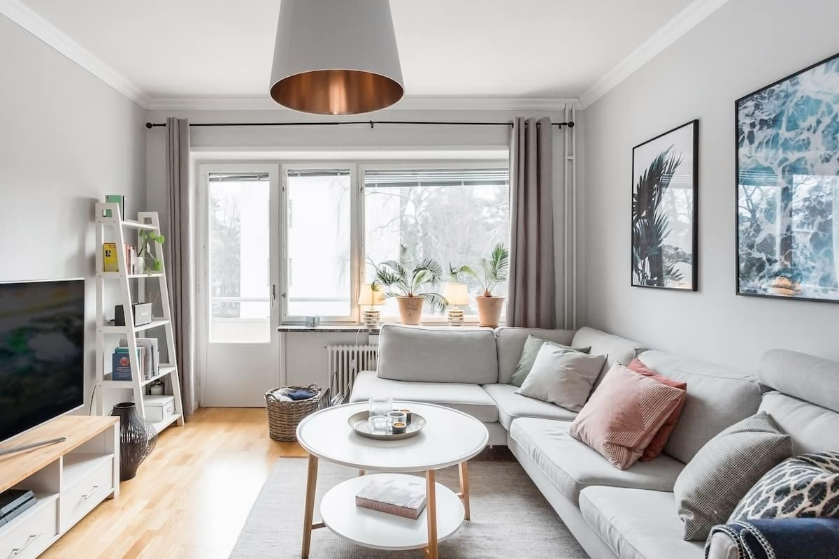Smart, Compact Apartment Outside Stockholm, Close to the Sea