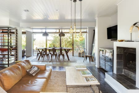 Stylish Hideaway with Great Privacy, Large Garden, and Pool