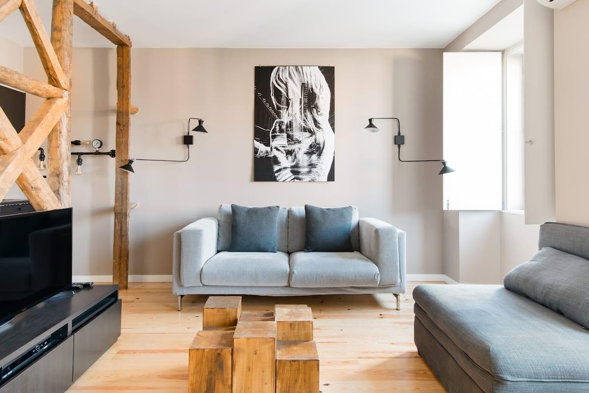My Lx Flat Newly Renovated Designer Lisbon Abode