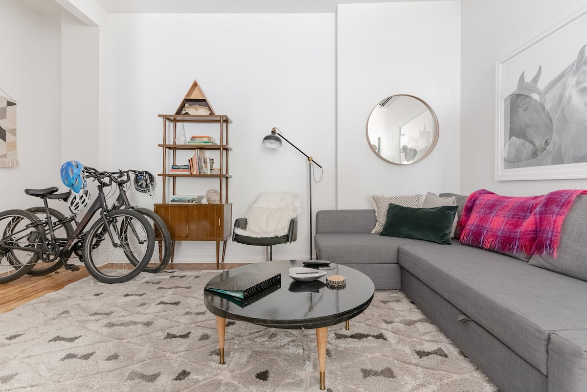 Bed and Bike with Private Patio in Historic Highlands