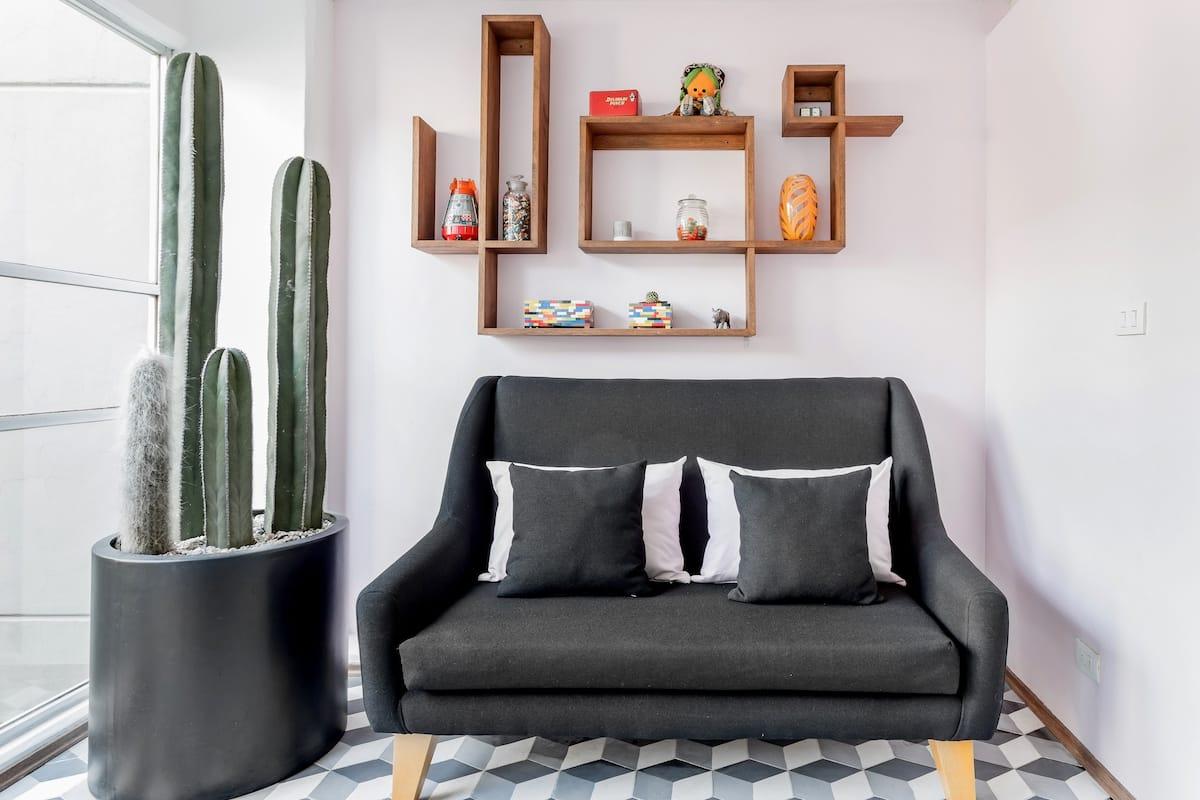 Modern Loft Nestled Between Hip Condesa and Roma