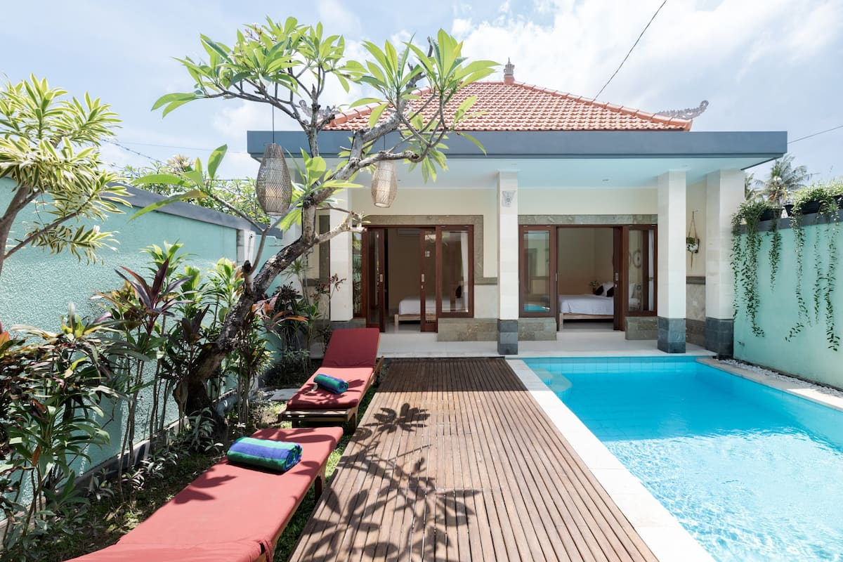 Private Pool Villa near Surf Breaks of Canggu Beach